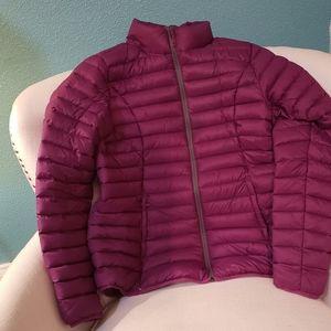 Natural Reflections Jackets & Coats - Natural Reflections purple puffer sz large Cabelas